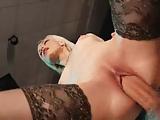 sesso in discoteca cubista troia scopata da padrone del locale